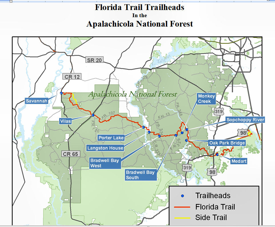Apalachee Chapter Hiking Backpacking 101
